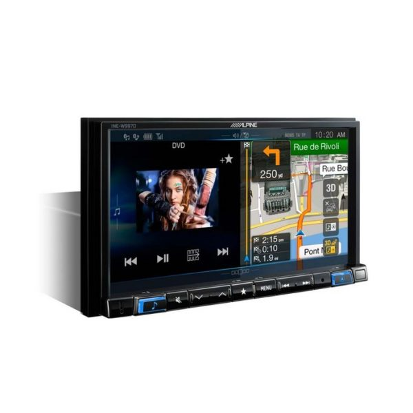 01_Navigation-unit-with-DVD-INE-W997D-blue-illumination